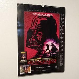 2006 Star Wars Poster Calendar